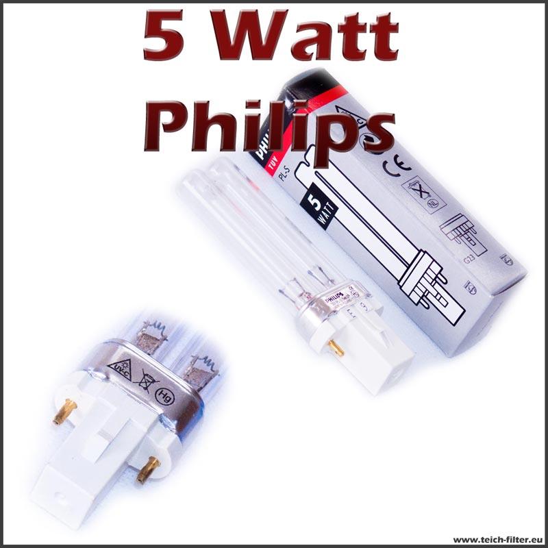 5 watt uv lampe pls philips. Black Bedroom Furniture Sets. Home Design Ideas