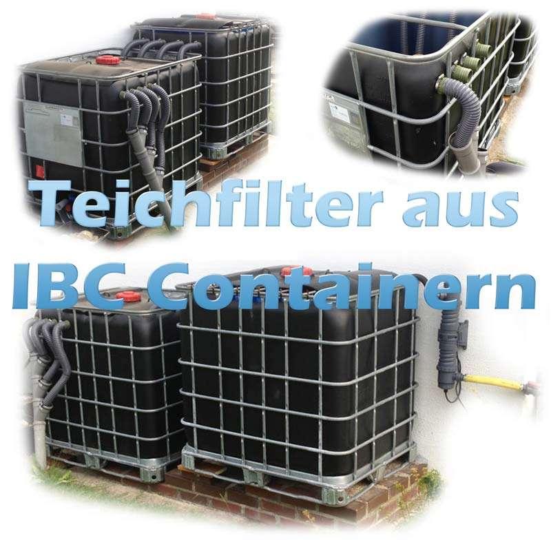 Teichfilter Aus Ibc Containern Selber Bauen Teichfilter