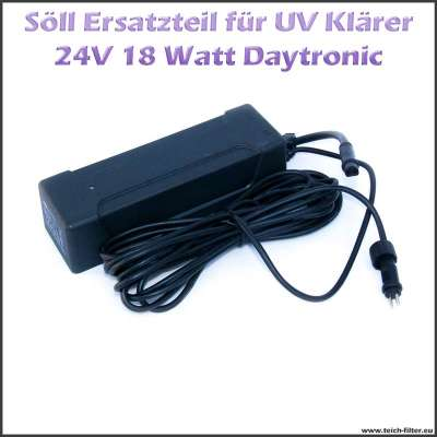 15254 Daytronic 24V für Söll UV Klärer 18W
