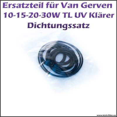 Dichtungssatz Van Gerven für TL UVC Klärer