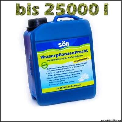 2,5 l Söll Wasserpflanzendünger für Teiche bis 25000 l Wasser