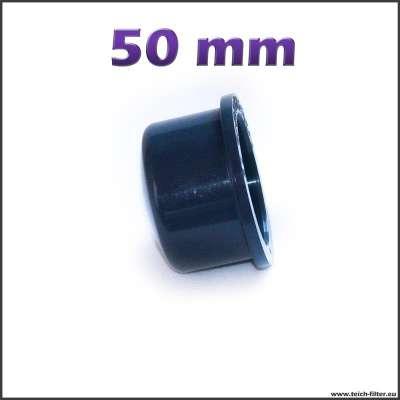 50 mm Endkappe zum Kleben auf Rohre aus Plastik