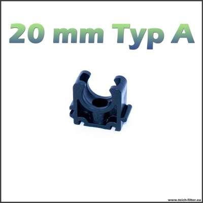 20 mm Rohrschelle Typ A halb von VDL