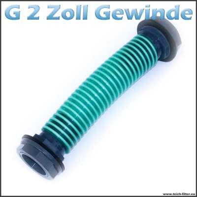 G 2 Zoll Regenfass Verbinder 50 mm