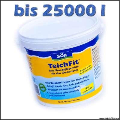 2,5 kg Söll Teichfit für Teichwasser bis 25000 l