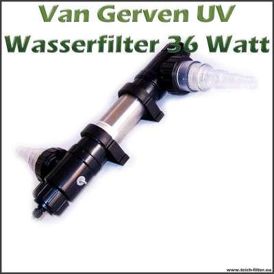 36 Watt UV Wasserfilter Van Gerven Koi Professional
