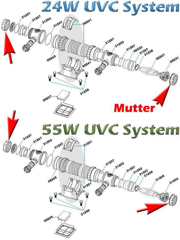 sera-24-55-w-uvc-system-mutter-fuer-gehaeuse