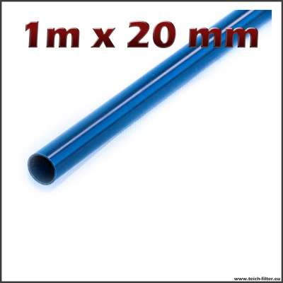 20 mm x 1 m Rohr aus PVC Kunststoff