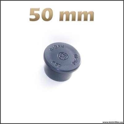 50 mm Verschlussstopfen aus Kunststoff für Rohre und Anschlüsse
