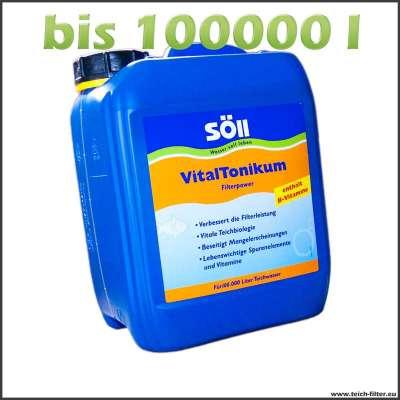 10 l Vitaltonikum für 100000 l Teichfilter von Söll
