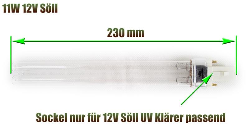 uvc-ersatzlampe-sockel-soell-230-mm-11-watt-12-volt-uv-klaerer-teich-daytronic