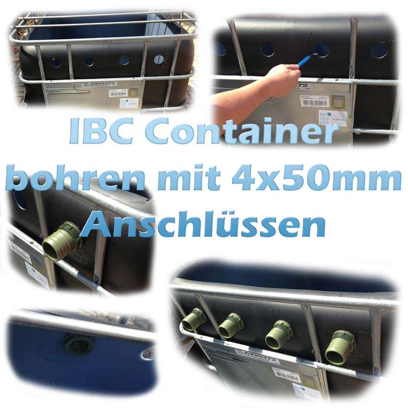 teichfilter aus ibc containern selber bauen. Black Bedroom Furniture Sets. Home Design Ideas