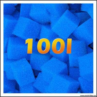 100 Liter Filterwürfel mittelgrob für Teichfilter und Wasser