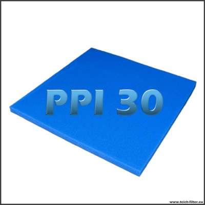 Feine Filtermatte 100 x 100 x 5 cm für Teichfilter Eigenbau