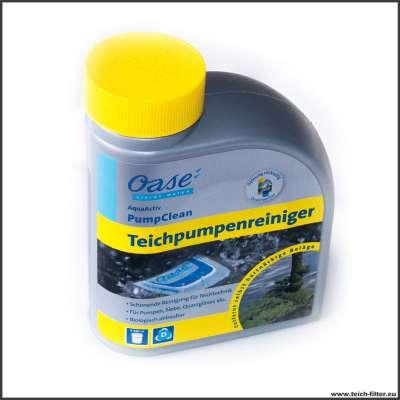 Oase Teichpumpenreiniger 500 ml AquaActive PumpClean zum reinigen und entkalken von Teichpumpen, UVC Quarzgläsern und Sieben