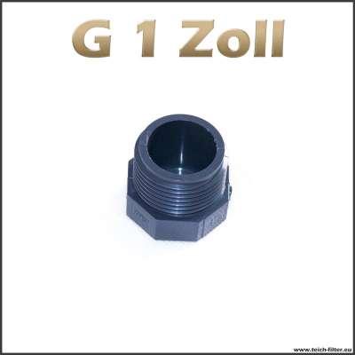 G 1 Zoll Verschlussstopfen aus Plastik