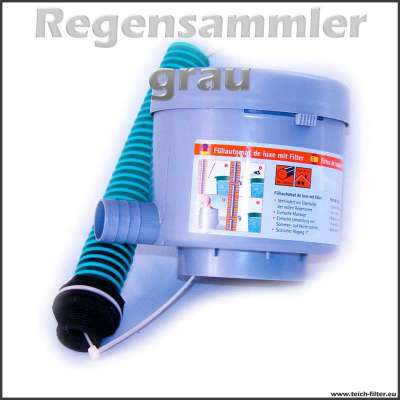 DN 100mm Regensammler grau Graf (Garantia Füllautomat)