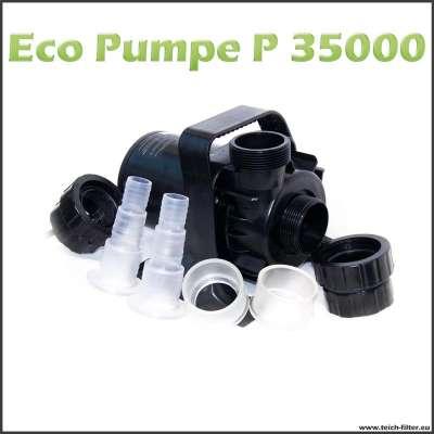 Eco Teichpumpe 35000 P für Wasserfall und Bachlauf