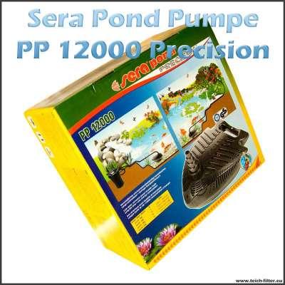 Teichpumpe für IBC Teichfilter bis 300000 Liter Sera PP 12000