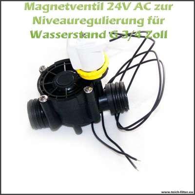 24V AC Magnetventil mit G 3/4 Zoll Anschluss