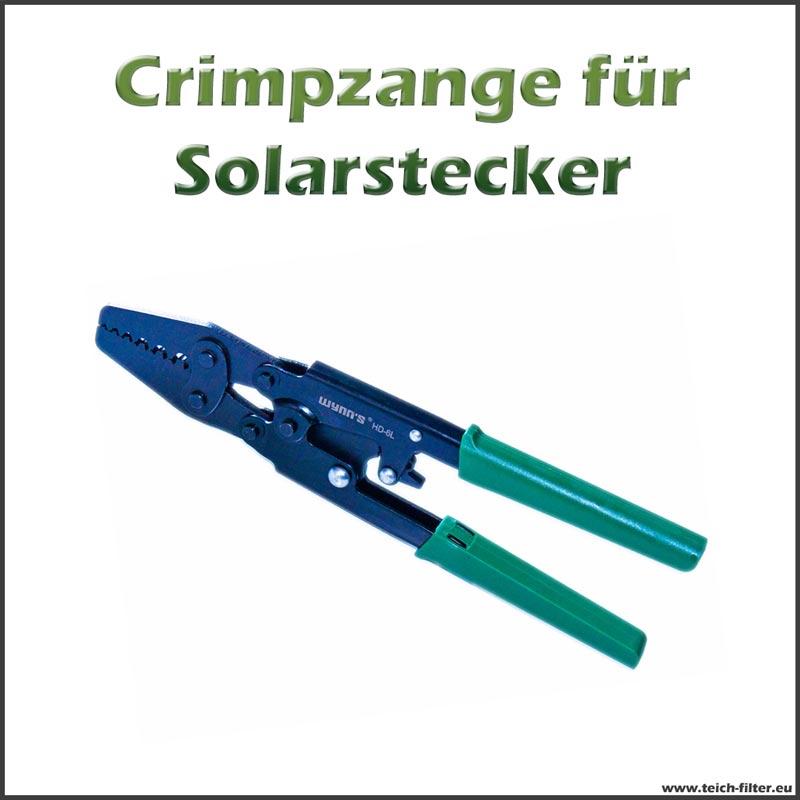 crimpzange universal f r solarstecker und kabel an 12v solarmodulen hier g nstig kaufen. Black Bedroom Furniture Sets. Home Design Ideas