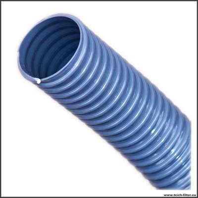 50 mm Spiralschlauch grau von Rehau für Teichfilter