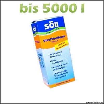 500 ml Söll Vitaltonikum für Teichfilter bis 5000 l Wasser