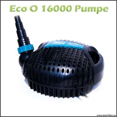 Teichpumpe Eco O 16000 für Filter und Skimmer