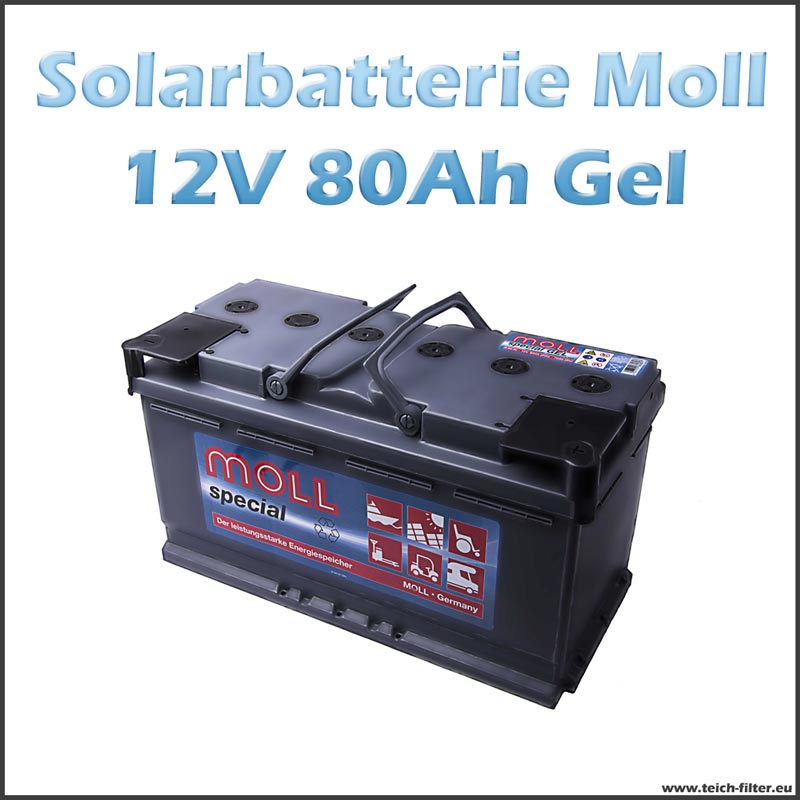 solarbatterie 80 90ah 12v gel moll f r wohnmobil und haus. Black Bedroom Furniture Sets. Home Design Ideas