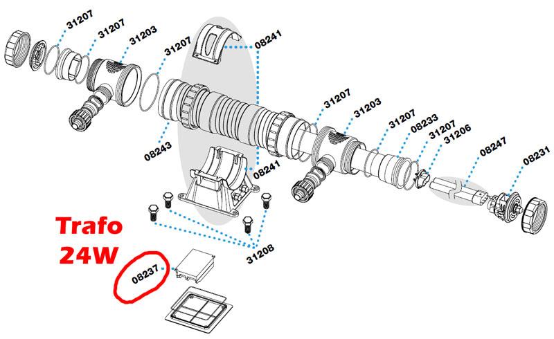 sera-pond-24w-uvc-system-ersatzteil-trafo-08237