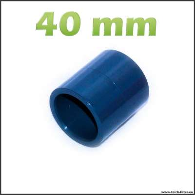 40 mm Muffe aus Kunststoff für Wasser