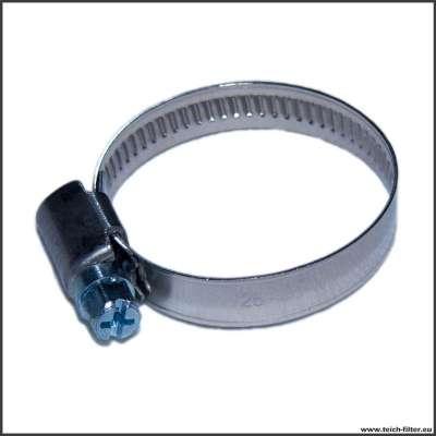 """25-40 mm Schelle aus Edelstahl W2 für Schlauch mit 32mm (1 1/4"""") Innendurchmesser"""