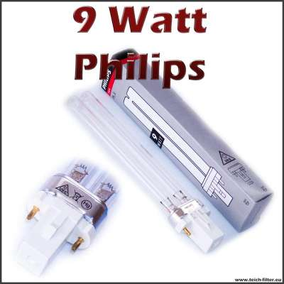 9 watt uv lampe pls philips. Black Bedroom Furniture Sets. Home Design Ideas
