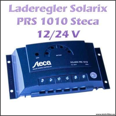 steca solar laderegler 12v 24v 10a solarix prs 1010 f r. Black Bedroom Furniture Sets. Home Design Ideas