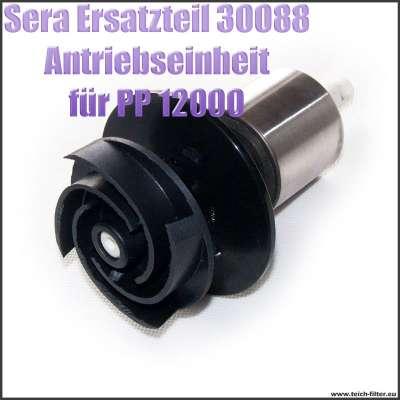 Antriebseinheit Propeller Ersatzteil 30088 für Sera Pond PP Precision 12000 Teichpumpe