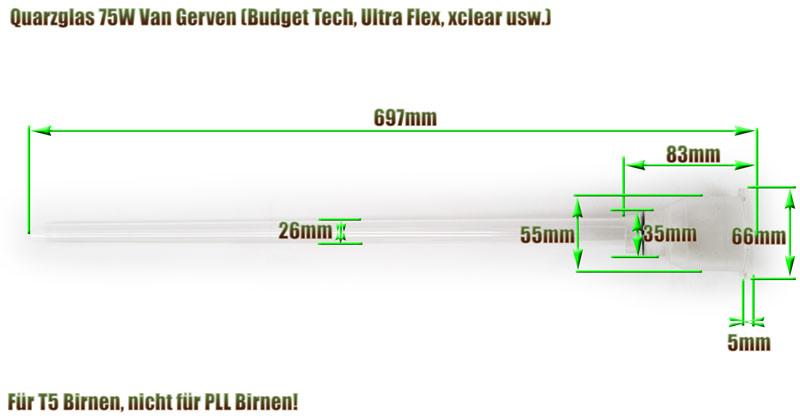 quarzglas-van-gerven-aquaforte-75w-uvc-klaerer-ersatz-abmessung-697mm-laenge-glasrohr-budget-tech-ultra-flex-xclear