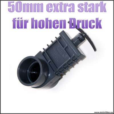 Zugschieber Valterra DN 50 mm extra stark für hohen Druck bis 6,6 Bar