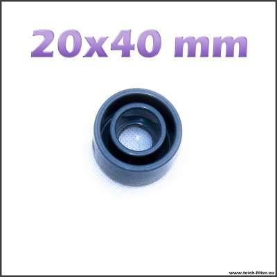 20 x 40 mm Reduzierung als Kunststoffhülse