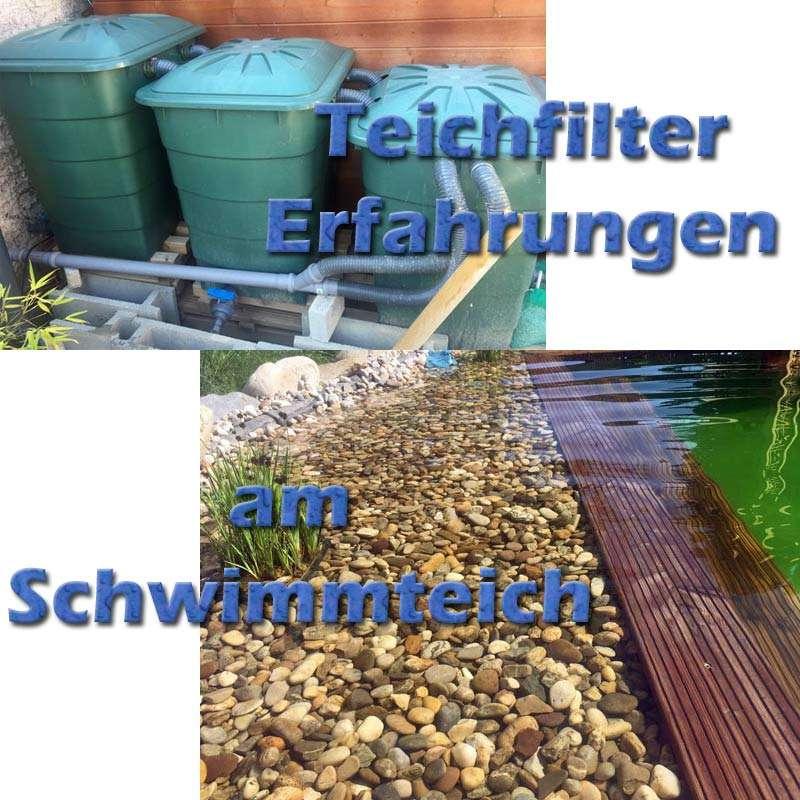 Erfahrungen mit dem teichfilter am schwimmteich for Phosphatbinder teich