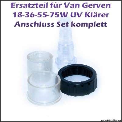 Anschluss Set für Van Gerven UVC Klärer Koi Professional