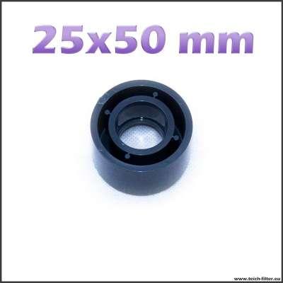 25 x 50 mm Reduzierung PVC