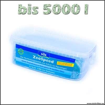 2,5 kg Söll Zeospeed Zeolith bis 5000 l Wasser