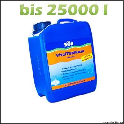 2,5 l Söll Vitaltonikum für Teichfilter bis 25000 l Wasser