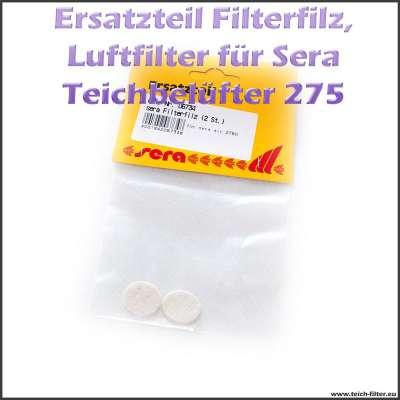 Ersatzteil 06734 Filterfilz als Luftfilter für Sera Pond Air 275 R Plus Teichbelüfter