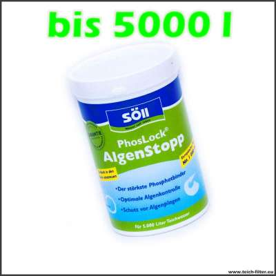 250g Söll Phoslock Algenstopp Phosphatbinder für 5000l Wasser