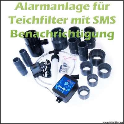 SMS Alarmanlage für Teichfilter bei Stromausfall