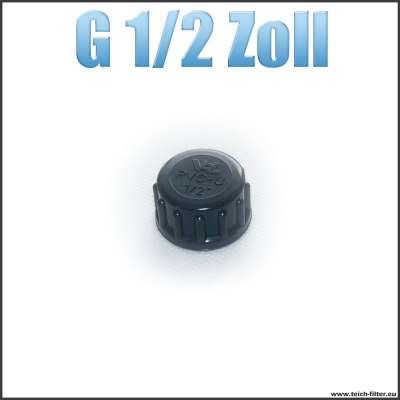 G 1/2 Zoll VDL Verschlusskappe mit Dichtung und Innengewinde