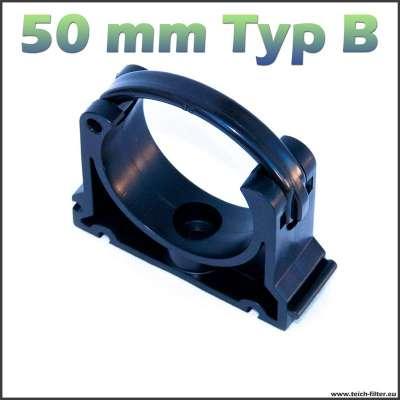 50 mm Rohrschelle Typ B von VDL 2-teilig
