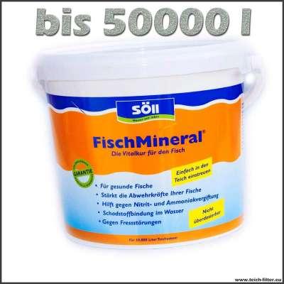 5 kg Fisch Mineral für Teiche bis 50000 l Wasser gegen Fischkrankheiten