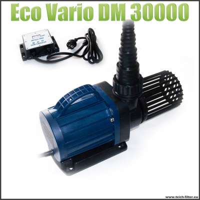 Teichpumpe Eco DM 30000S Vario elektronisch regelbar mit digitalem Display